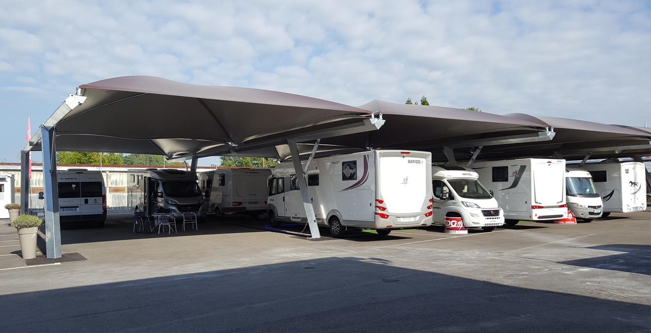 carport en toile parking