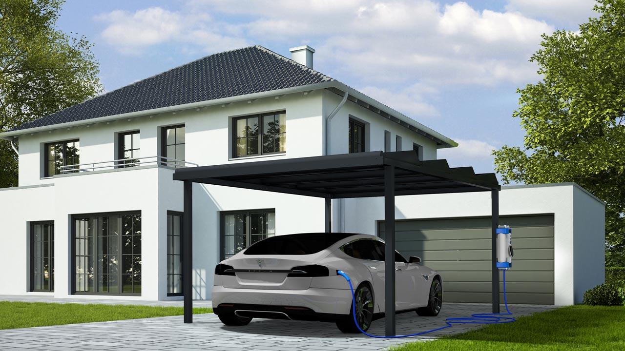 carport solaire maison