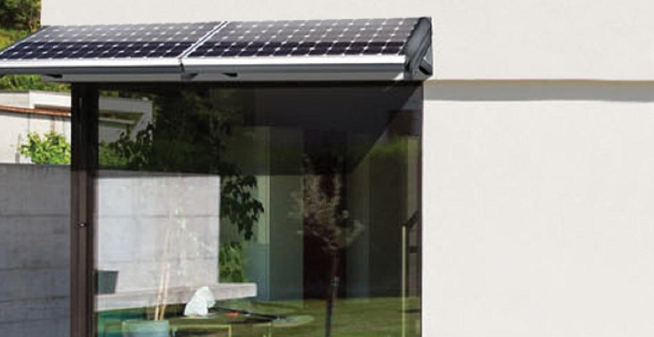marquise solaire maison