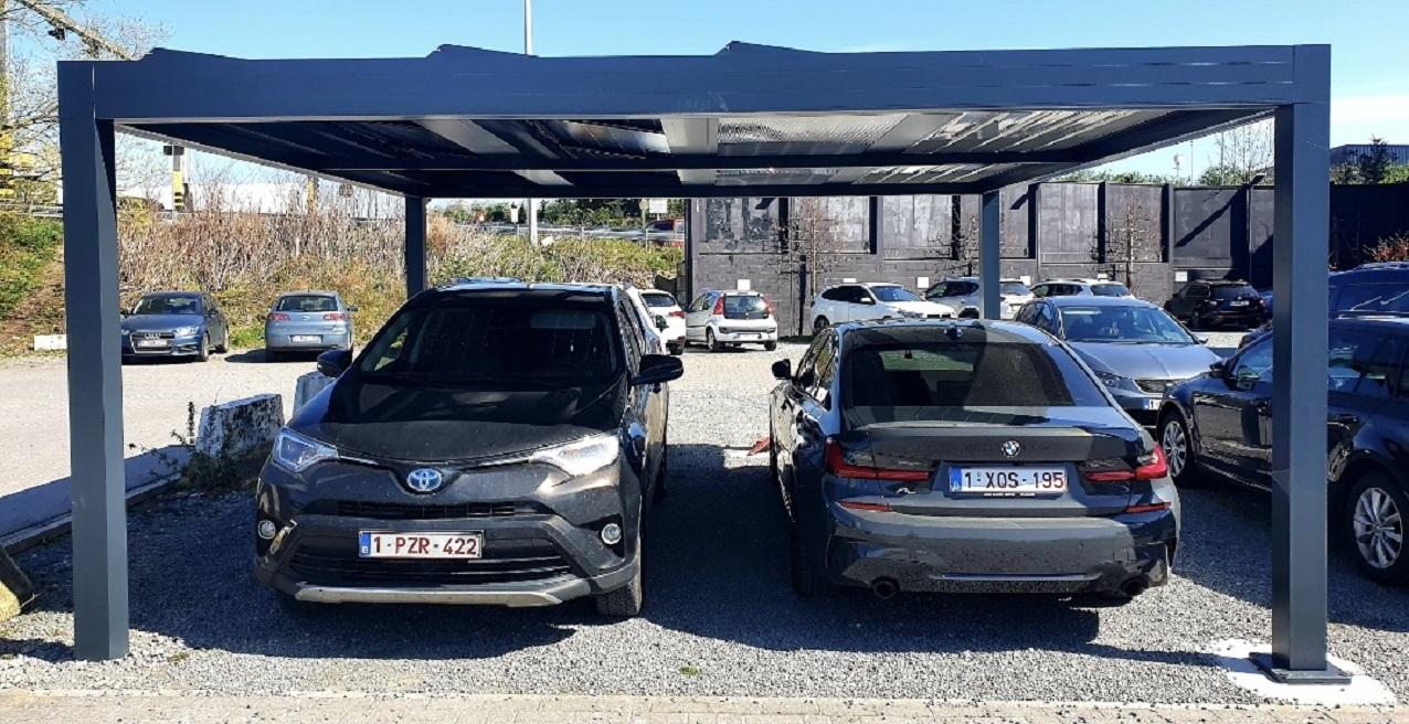 double carport solaire